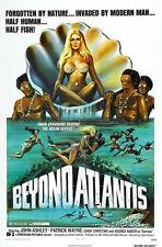 Home Wall Art Print - Vintage Movie Film Poster -BEYOND ATLANTIS- A4,A3,A2,A1