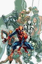 Agent Venom Iron Spider 2099 Ben Reilly Stealth Captain Universe Spider-Man Art