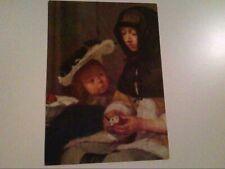 Die Apfelschälerin. Gerard De Borch. Künstlerkarte. Wien. Kunsthistorisches Muse