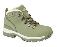Womens Northwest Territory Red Navy Grey Leather Walking Trekking Boots UK 4 - 8