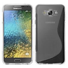 Etui Coque Housse TPU Silicone Gel S-Line Samsung Galaxy E7 SM-E700 E7000 E7009