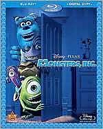 MONSTERS, INC. DVD+BLU RAY+ DIGITAL 4 DISC COMBO PACK  NEW SEALED SLIP CASE