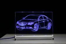 LED-Leuchtschild graviert ist  Opel Insignia  AutoGravur