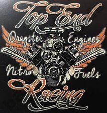 T-shirt #583 top end Racing, Hot Rod v8 pin up rockabilly 50er us-car Musclecar