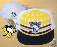 Pittsburgh Penguins hat  cap Vintage NHL Fitted  7  1/8