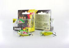 IZUMI Wobbler Malicious 2.5 g,28mm S, small Krenke, fish-loving small lures,bait