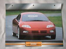 Dodge Intrepid ESX2 Dream Cars Card