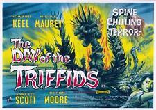 Giorno dei Trifidi riproduzione film poster a3 o a4 le opzioni disponibili