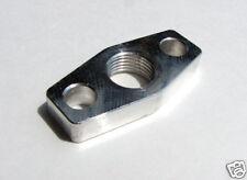 "Turbo Oil Return/Drain Flange for Holset 1/2"" npt alum Turbonetics HX35 HX40 DSM"
