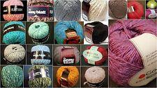 Struktur- Baumwolle,Anny Blatt,Schewe,Woll-Service,Sonstige,Vintage-Retro