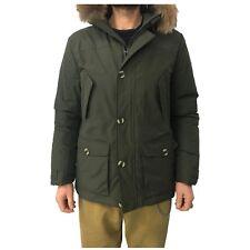 CANADIENS giaccone uomo verde  mod BONFIELD/U LONG JACKET CT0514 TACTEL FIBRE 2