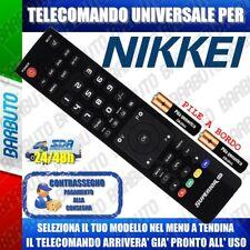 TELECOMANDO UNIVERSALE NIKKEI^ CLICCA SUL TUO MODELLO E LO RICEVERAI GIA PRONTO