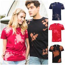 CANDEGGINA TIE DYE T Shirt Top TEE Tye Die Music Festival Hipster Indie Retrò T-shirt