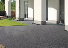 Steinteppich aussen 30 m² all. inc.+Balkonvlies+Grundierung+Glanzversiegelung