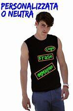 T Shirt Personalizzata Maglietta Smanicata Canotta Stampa Personalizzabile