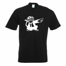 Singe en Costume T-Shirt à Motif Impression Haut Fun Design Imprimé