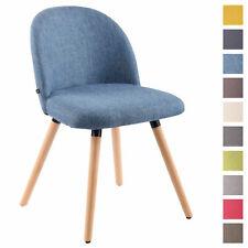 Chaise de salle à manger NELSON rembourrée revêtement tissu chaise avec dossier