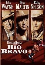 RIO BRAVO DVD (1958) John Wayne Dean Martin Ricky Nelson