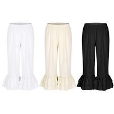 Women's Renaissance Ruffle Bloomers Victorian Underpants Costume Pantaloons Pant