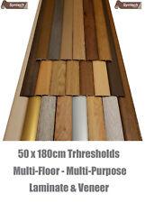 New Laminate Transition Threshold Strips 180cm x 50mm Multi-Height/Pivot