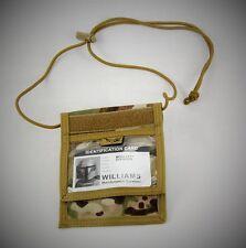 V2 ID CARD DISPLAY / ACCREDITATION & DOCUMENT NECK WALLET CORDURA MULTICAM