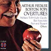 Overtures - Arthur Fiedler Boston Pops CD