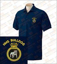 HMS BULLDOG Ricamato Polo Shirt