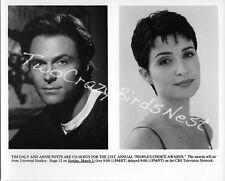 TIM DALY / ANNIE POTTS 8X10 B&W Photo PEOPLE'S CHOICE