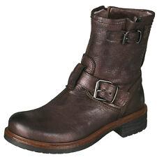Momino 1411M Kinder Boots Stiefeletten Stiefel Braun Lammfell Gr. 36, 38 Neu