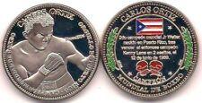 CARLOS ORTIZ Campeon Boxeo PUERTO RICO Boxing Champion PONCE