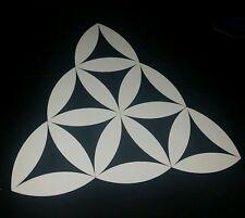 Sacred geometry triangle alien Car vinyl Sticker spiral australian made & design