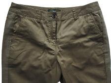 New Womens Green NEXT Crop Trousers Size 20 18 16 14 12 10 Long Regular RRP £24