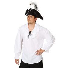 piratenbluse Camiseta Hombre Camisa de pirata blanco Traje