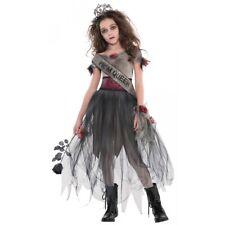 Zombie Prom Queen Costume Kids Halloween Fancy Dress
