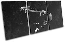 Camera industrial  hobbies TREBLE DOEK WALL ART foto afdrukken