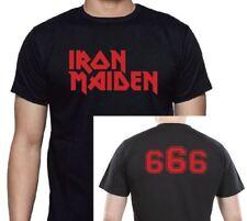 Iron Maiden 666 Classic Logo 2 Sided T shirt