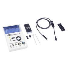 Wireless HD 720P Waterproof Smart WIFI Camera Snake Inspection Endoscope LED USA