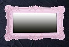 XXL Baroque Miroir mural 96x57 ANCIEN Rokoko décoration prinzessinspiegel Rose