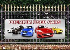 Outdoor PVC Premium Auto Usato Vendita Banner GARAGE SIGN pubblicità gratuita OPERE D'ARTE