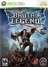 Brutal Legend (Microsoft Xbox 360, 2009)