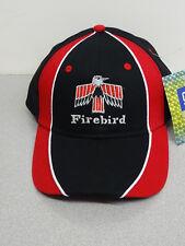 PONTIAC FIRST GENERATION FIREBIRD BLACK/RED HAT GM LICENSED