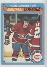 1979-80 O-Pee-Chee #24 Yvon Lambert Montreal Canadiens Hockey Card