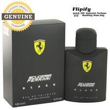 Ferrari Scuderia Black by Ferrari EDT Cologne for Men 4.2 2.5 oz 125 ml New Box