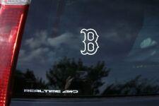 "Boston Red Sox ""B"" MLB Premium Vinyl Decal for Car Windows, Cornhole Game, Yeti"