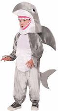 Shark Costume Child Soft Plush Gray Big White Sharknado Week Medium Large New