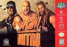 ***WCW NITRO N64 NINTENDO 64 GAME COSMETIC WEAR~~~