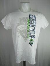 the latest 5d1b5 f5d6a Seattle Sounders FC Men s T-Shirt MLS Gildan White Short Sleeve Size ...