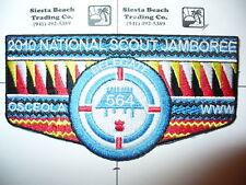 OA Osceola Lodge 564,S-48b,2010 BSA National Jamboree Delegate Flap,Southwest,FL