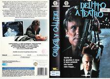 DELITTO A TEATRO (1993) VHS