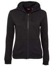 Jb's wear Ladies Womens Poly Cotton Full Zip Sports Casual Hoodie Jumper Jacket
